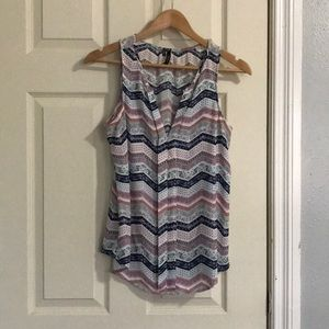 Maurices paisley pattern tank top size S